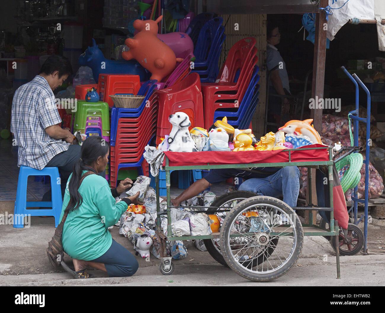 Toy sale - Stock Image