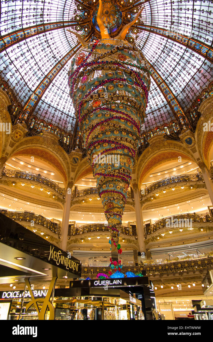 THE DEPARTMENT STORES, (75) PARIS, FRANCE - Stock Image