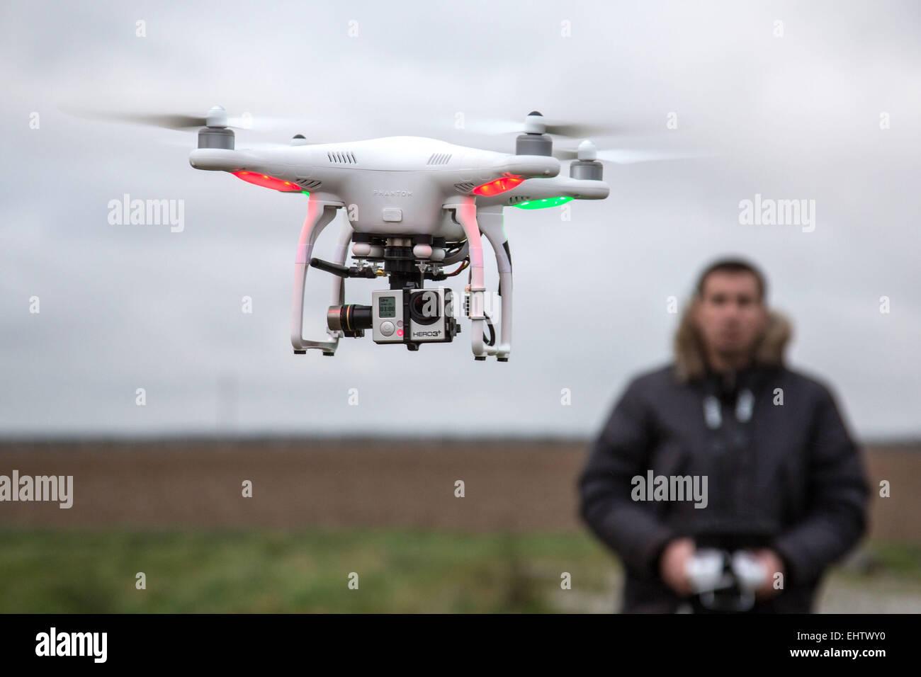 ILLUSTRATION DRONE CIVIL - Stock Image