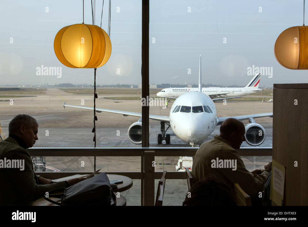 AEROPORT D'ORLY, (94) VAL-DE-MARNE, FRANCE Stock Photo