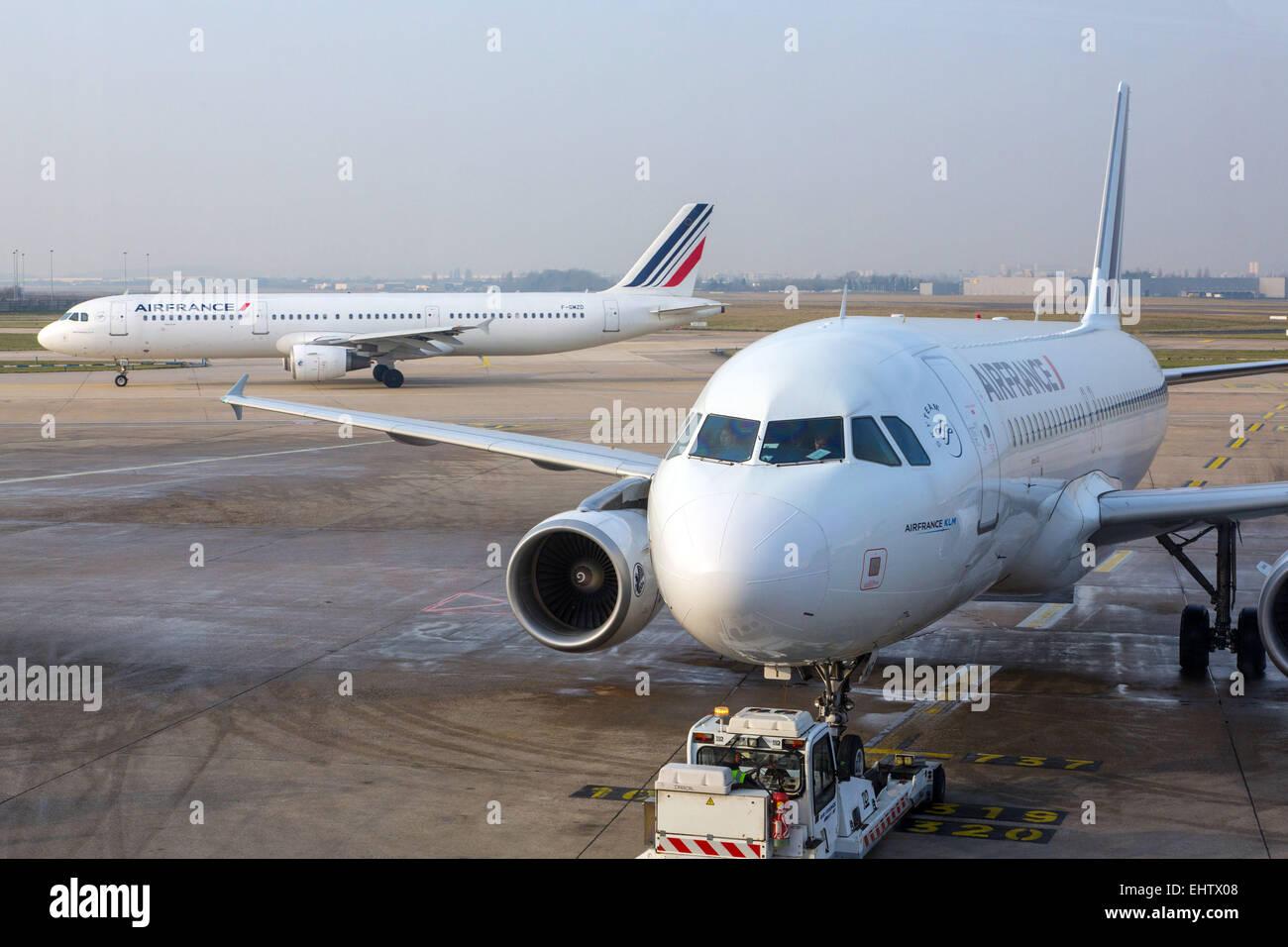 AEROPORT D'ORLY, (94) VAL-DE-MARNE, FRANCE Stock Photo