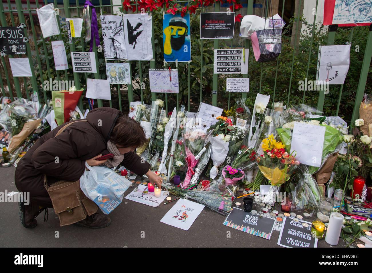 PARADE AGAINST TERRORISM, REPUBLICAN MARCH - Stock Image