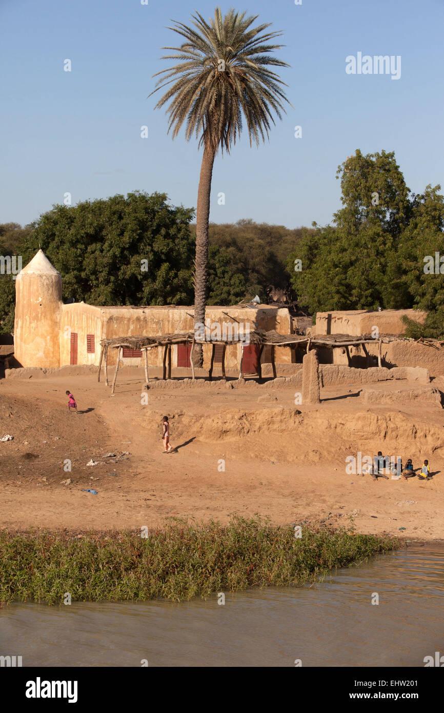 ILLUSTRATION OF MAURITANIA, WEST AFRICA - Stock Image