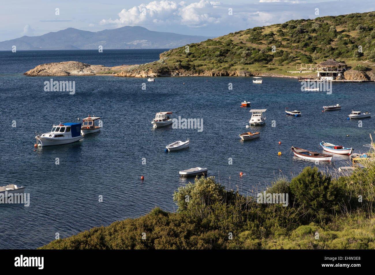 THE OLIVE RIVIERA, AEGEAN SEA, TURKEY - Stock Image