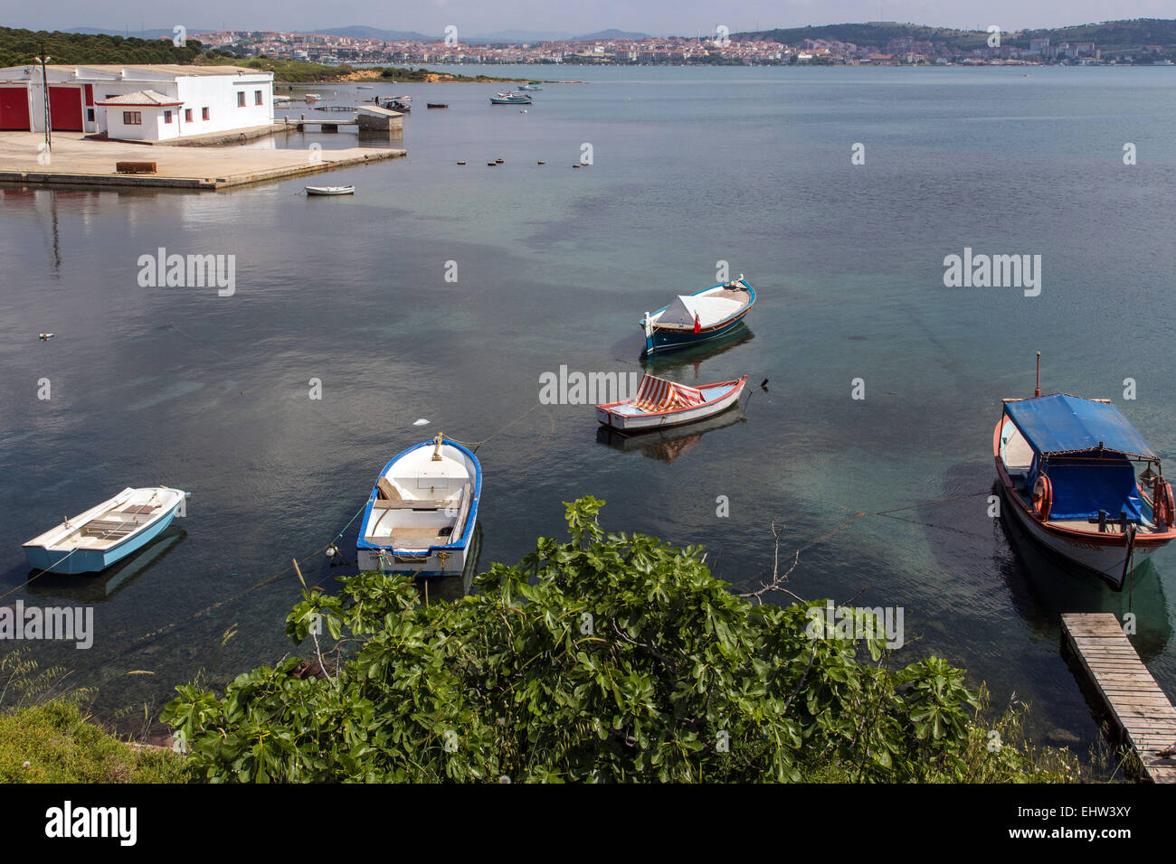 THE OLIVE RIVIERA, AEGEAN SEA, TURKEY - Stock Image
