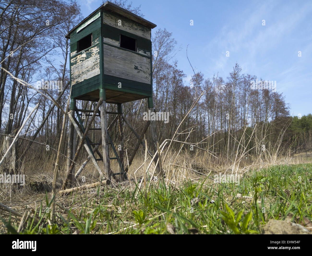 observation tower - Stock Image