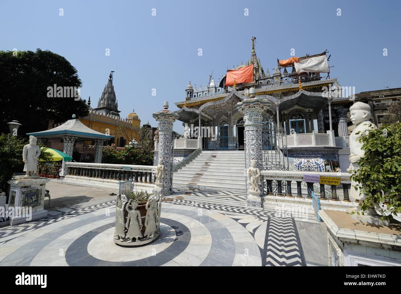 Temple in Kolkata Stock Photo