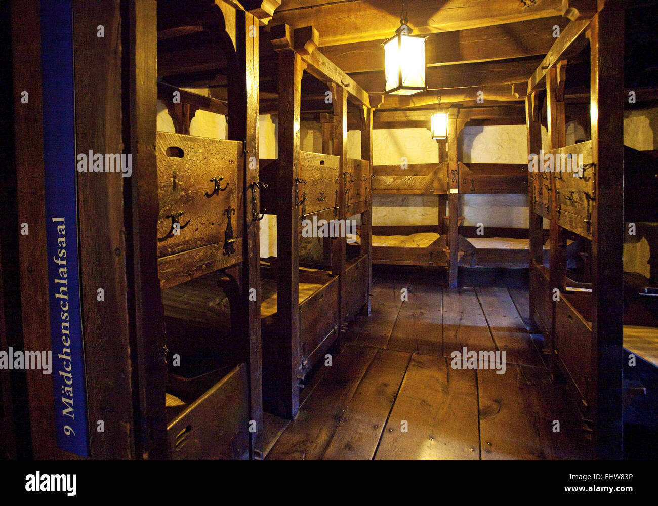 International Youth Hostel Museum in Altena - Stock Image