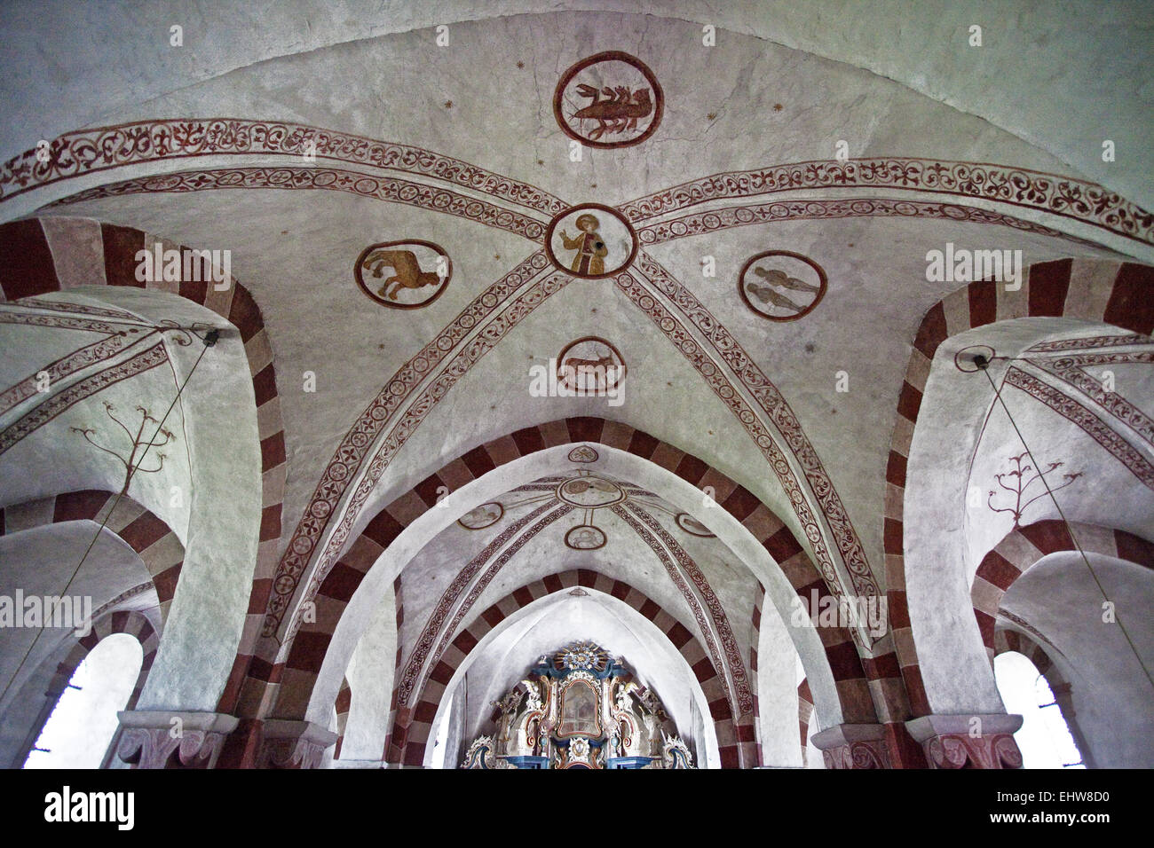 Church in Wormbach in Schmallenberg, Germany. - Stock Image
