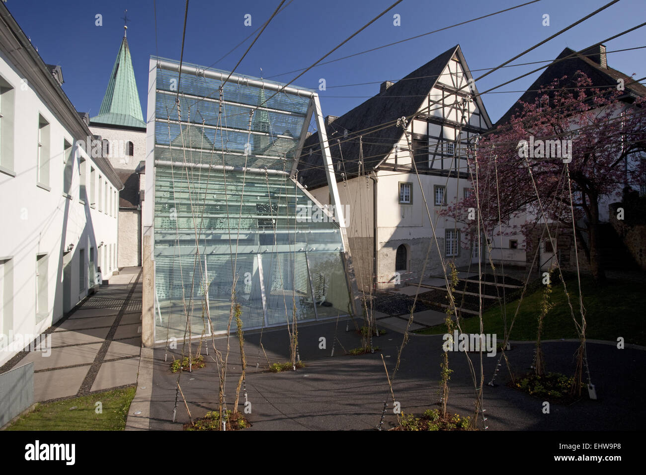 The convent Wedinghausen in Arnsberg. - Stock Image
