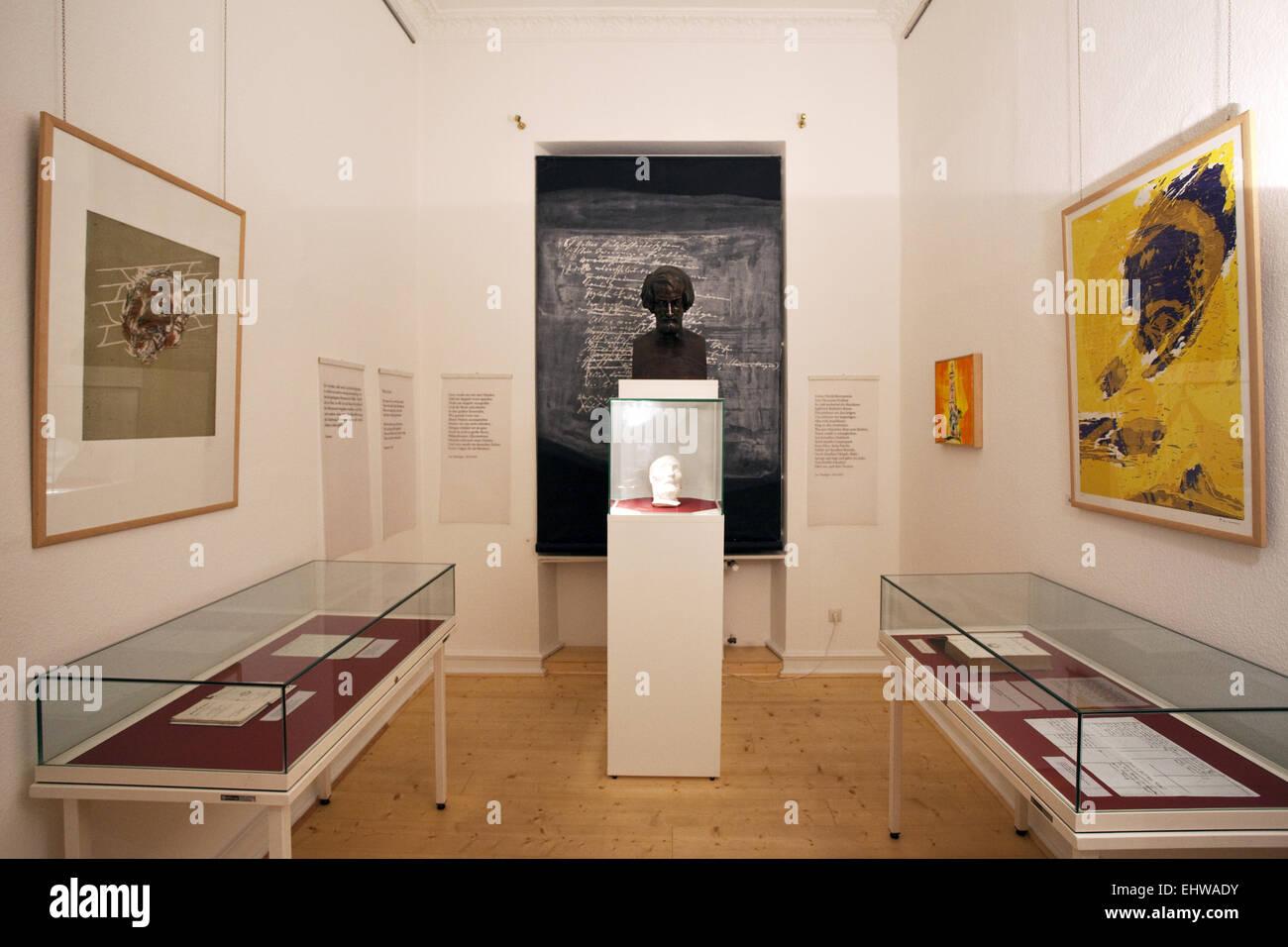 The Heinrich Heine Institute in Duesseldorf. - Stock Image