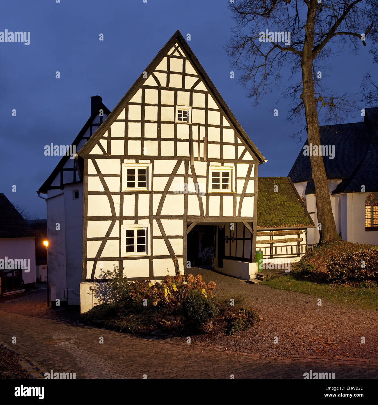 The spike in of Herscheid in Germany. - Stock Image