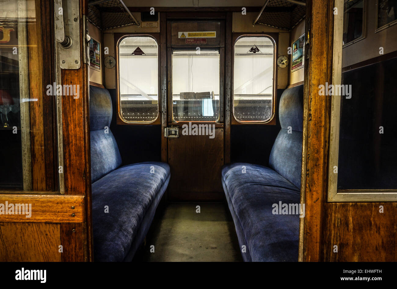 interior view of a compartment inside an old british railway stock photo 79851873 alamy. Black Bedroom Furniture Sets. Home Design Ideas