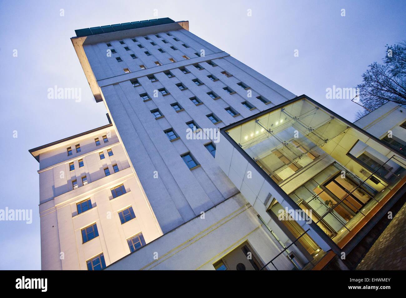 Kontor House, Duisburg Inner Habour, Germany. - Stock Image