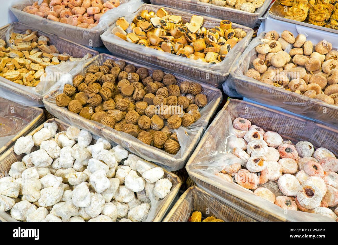 Tasty italian pastry - Stock Image