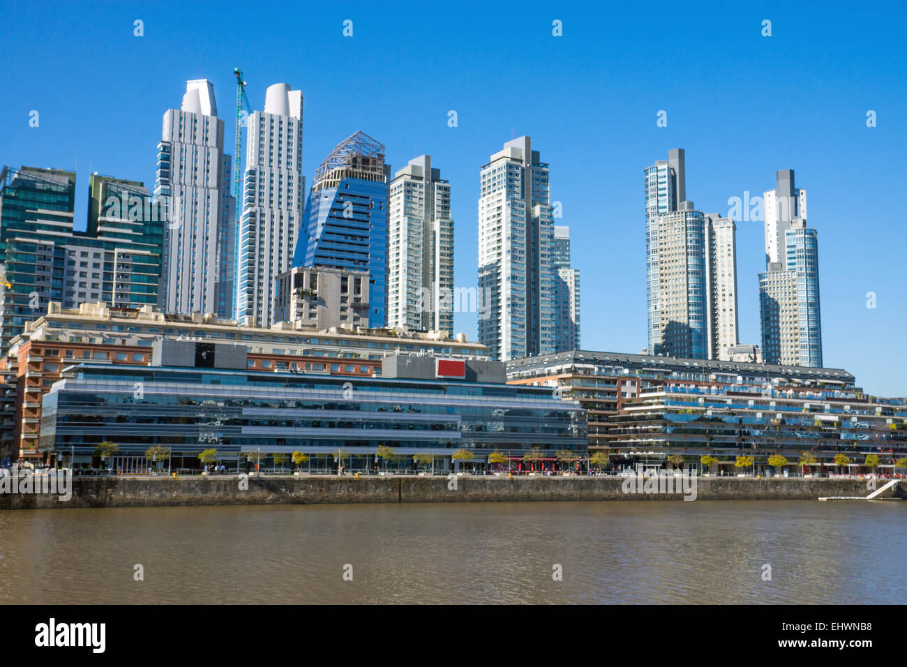 Skyscrapers in Buenos Aires - Stock Image