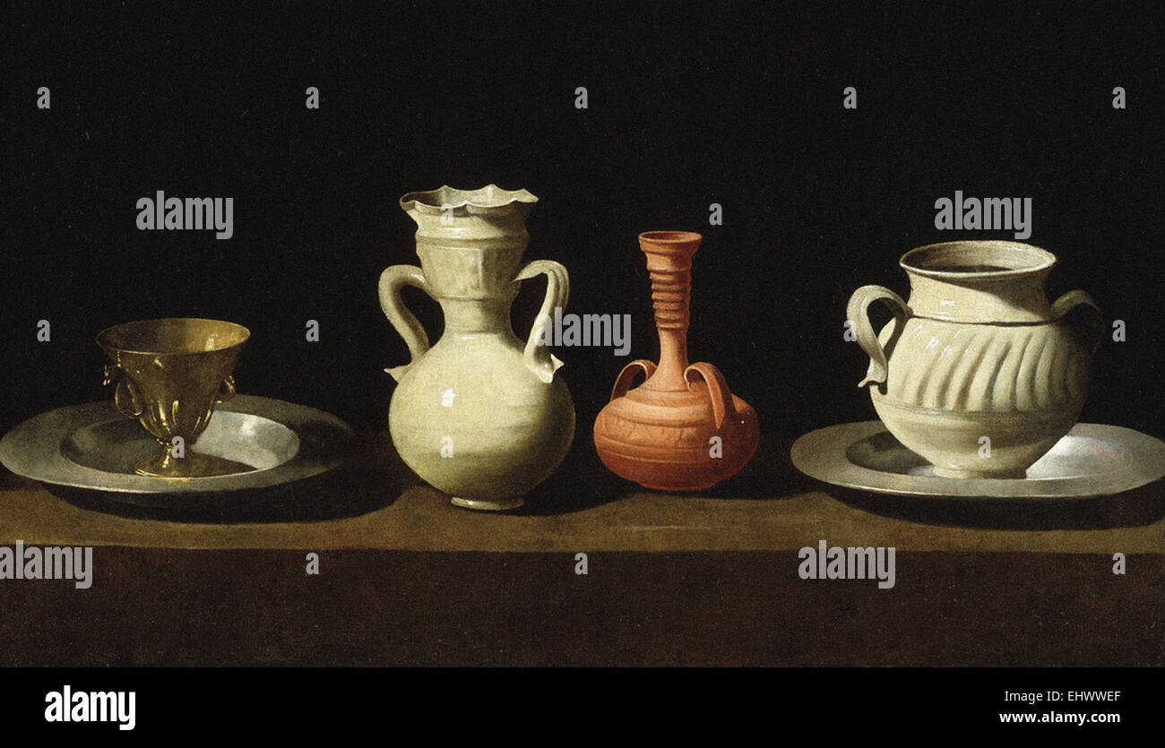 Francisco de Zurbarán  Still Life - Stock Image