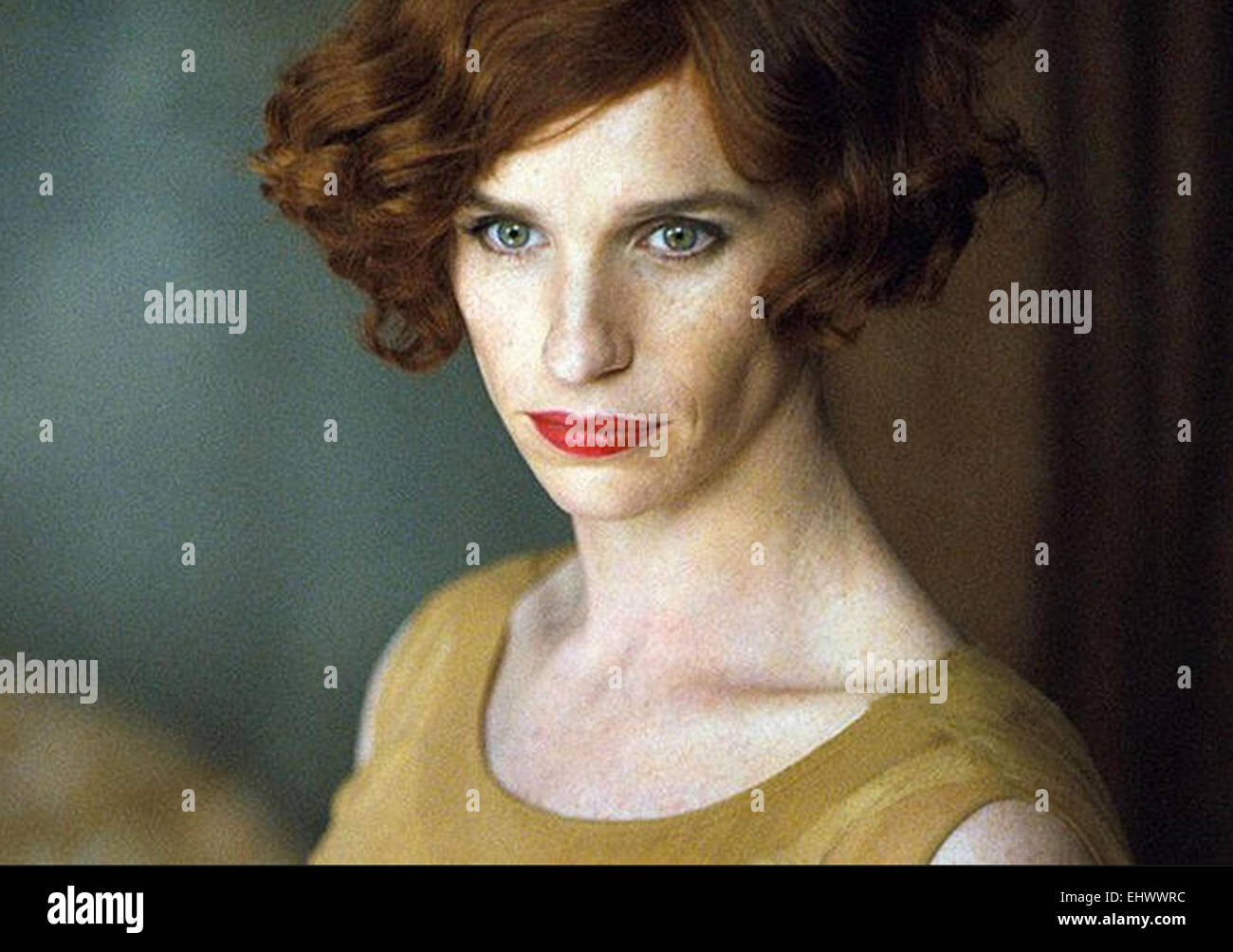 THE DANISH GIRL 2015 Pretty Pictures film with Eddie Redmayne as Lili Elbe - Stock Image
