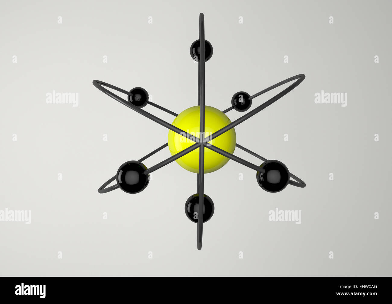 Atoms - Stock Image