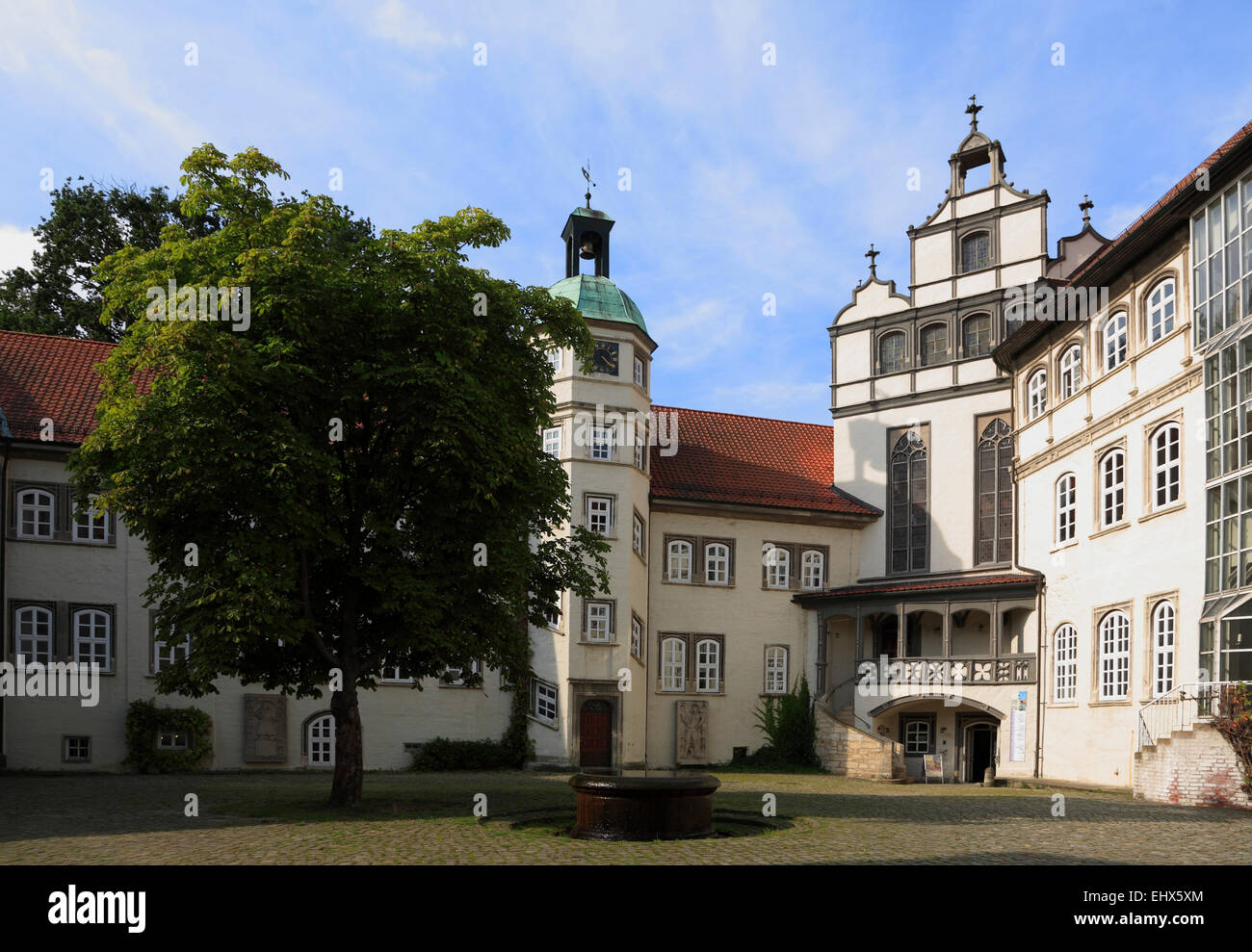 Castle Gifhorn,Lower Saxony, Germany, Europe - Stock Image