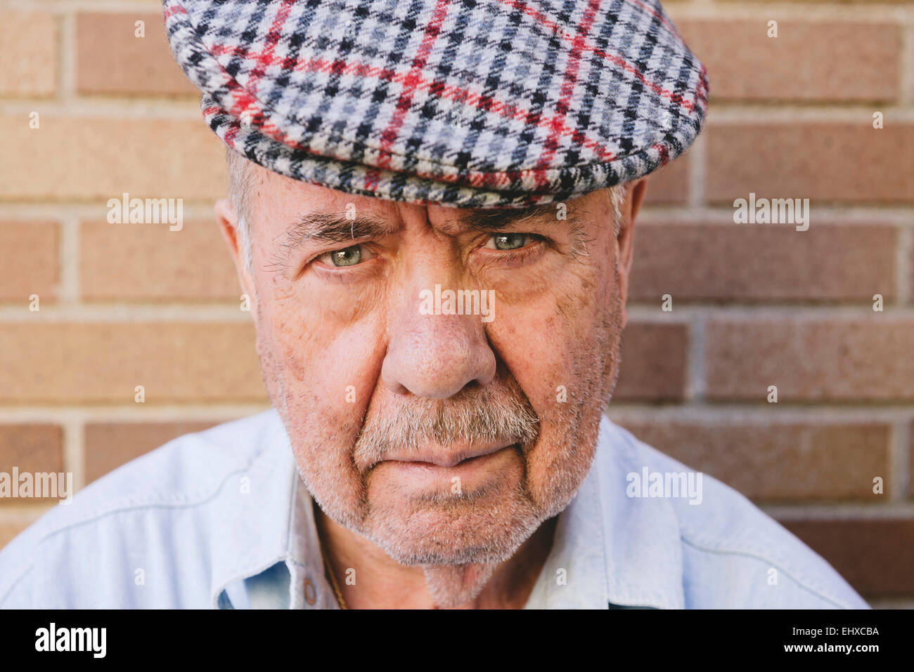 ad2d7c427fbb8 Man Beard Old Cap Stock Photos   Man Beard Old Cap Stock Images ...