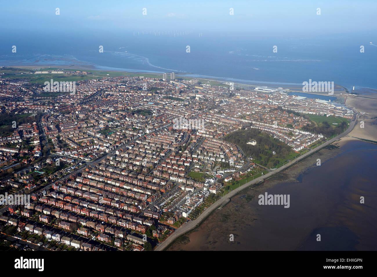 New Brighton, Birkenhead, Merseyside, North West England, UK - Stock Image