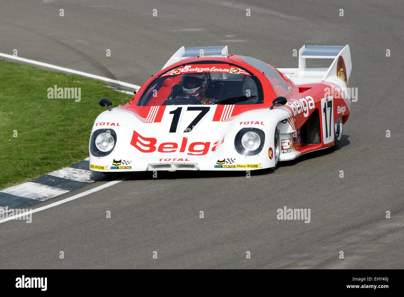 Group C Sports Prototype Stock Photo