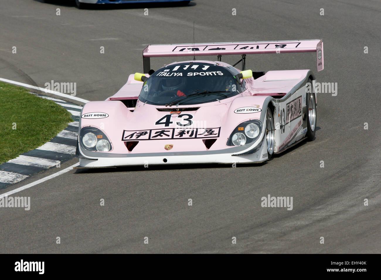 Porsche Group C Sports Prototype - Stock Image