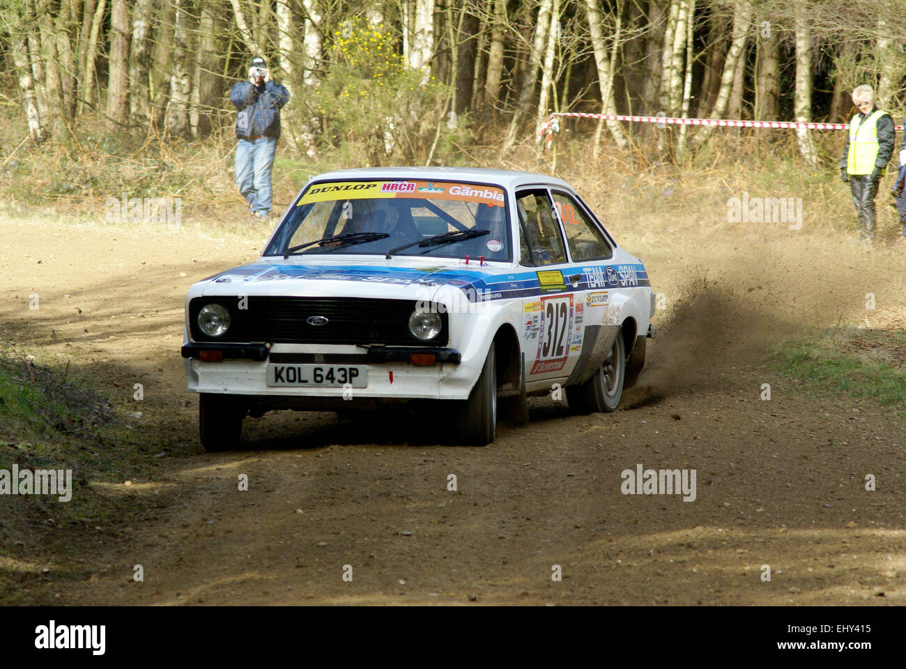 Ford Escort MK2 Rally Car Stock Photo: 79886497 - Alamy
