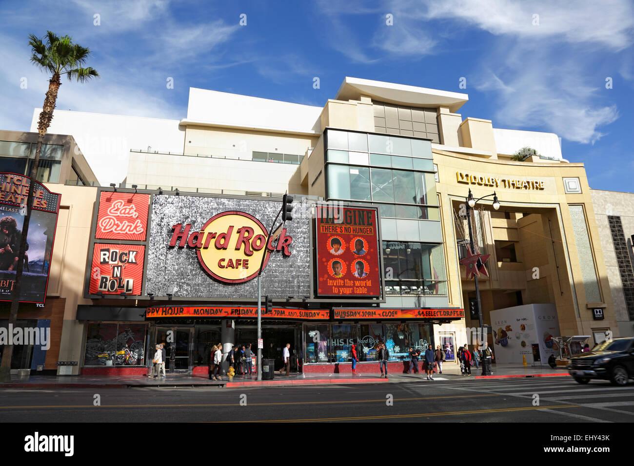 Hard Rock Cafe Los Angeles Ca