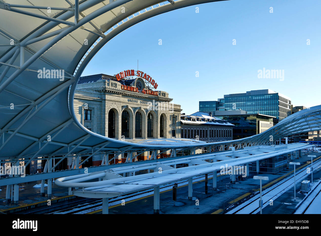 Union Station, Denver, Colorado USA Stock Photo