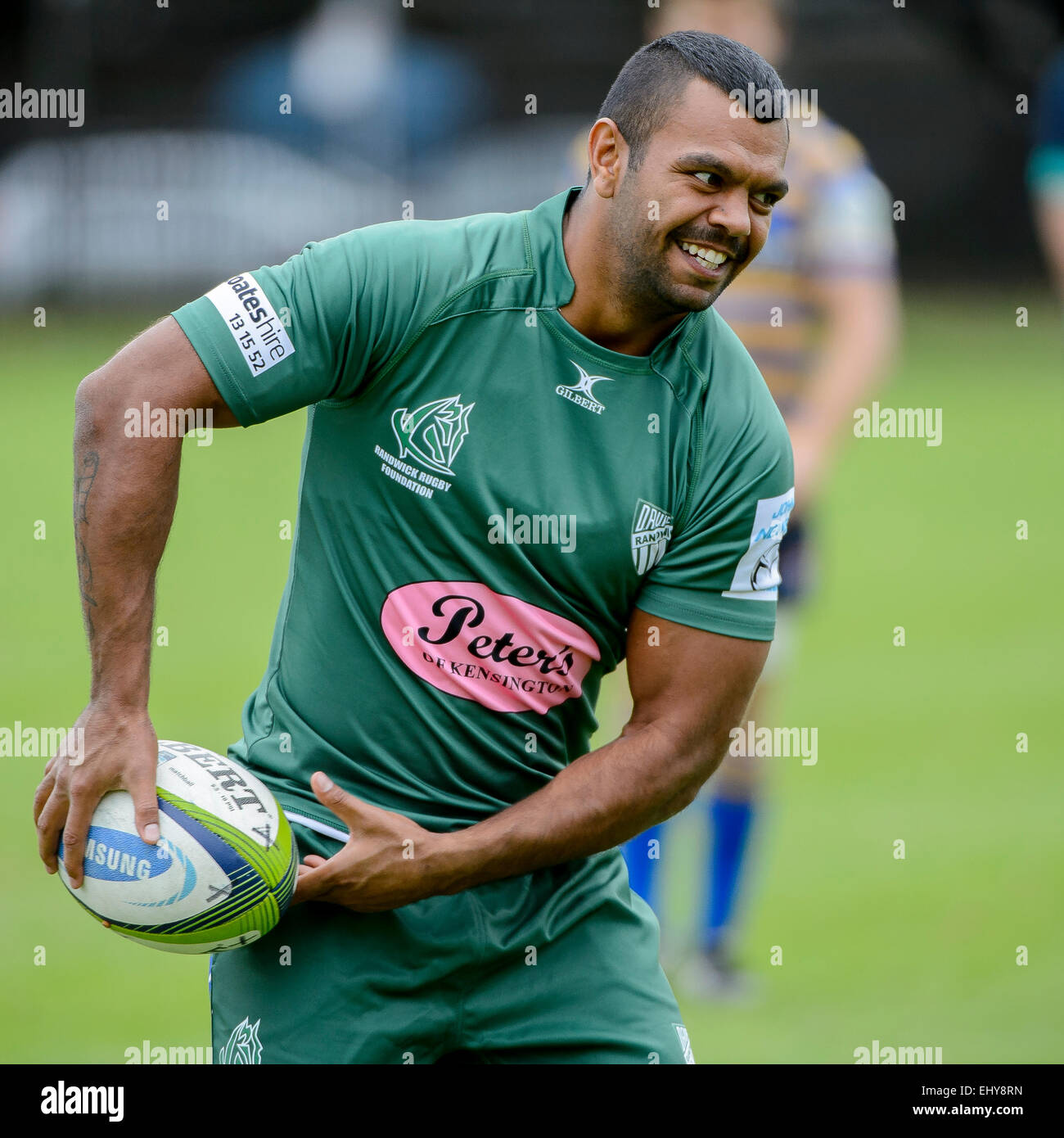 Kurtley Beale Impressed For Randwick Against Sydney: Union Club Stock Photos & Union Club Stock Images