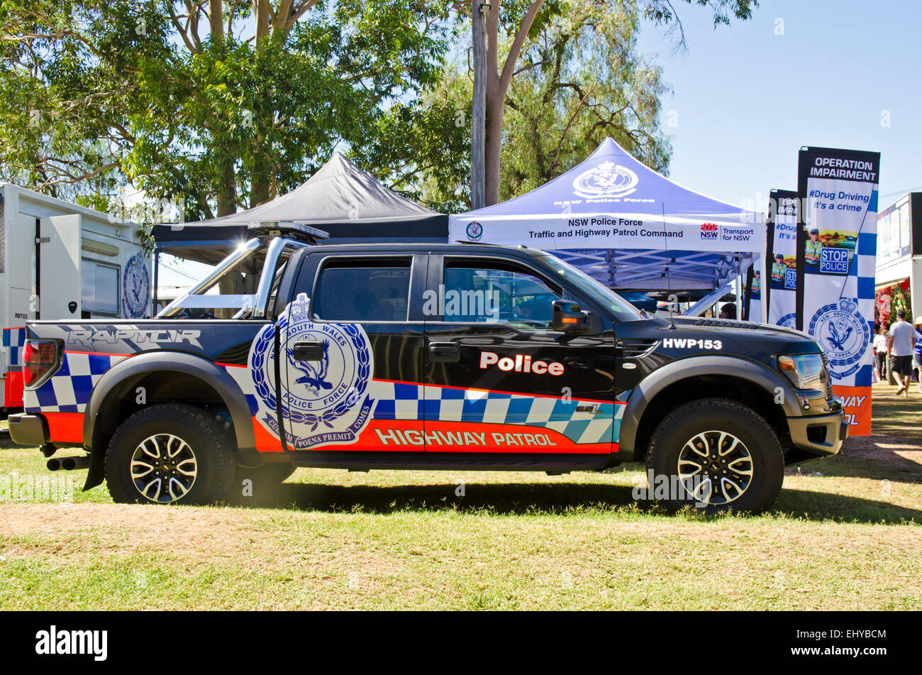 NSW Australia Highway Patrol Police Vehicle  Ford F-150 SVT Raptor