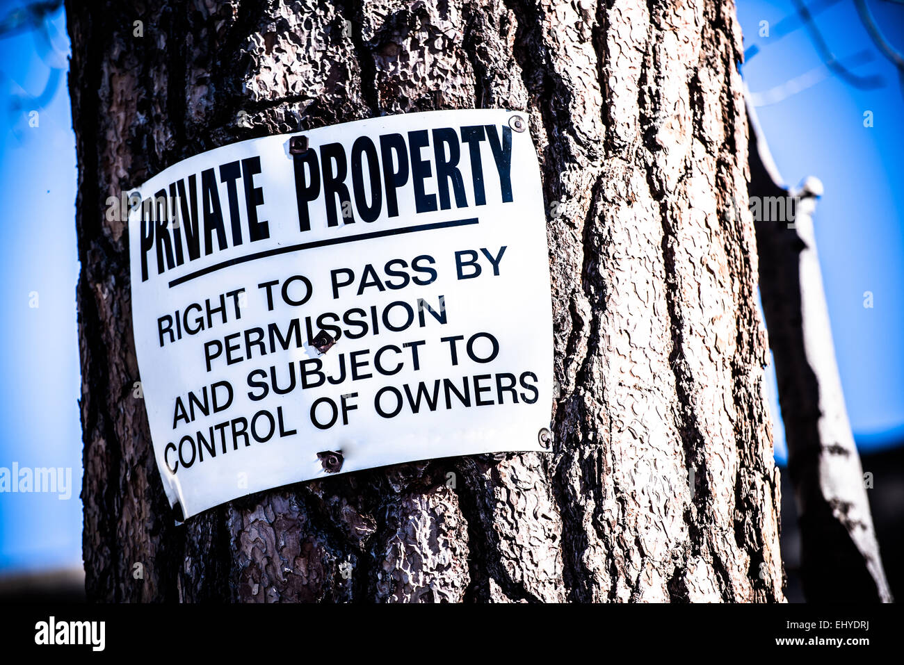 private property to right