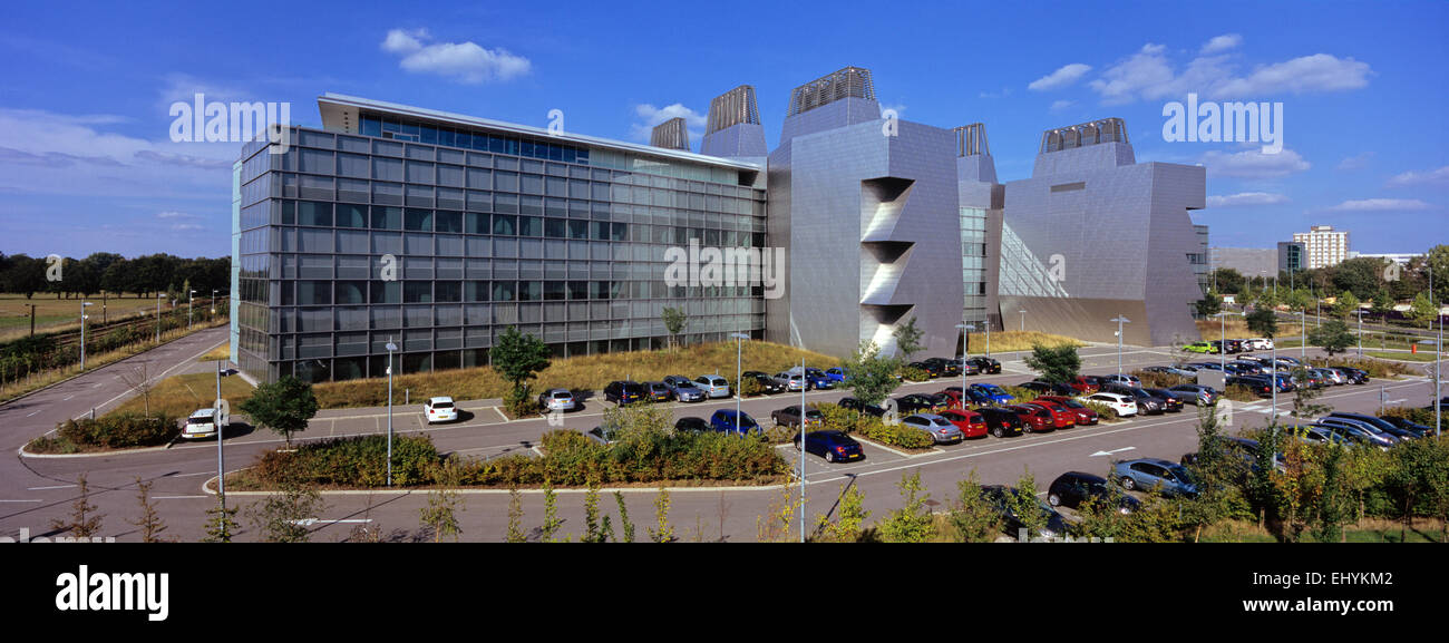 new laboratory of molecular biology MRC cambridge DNA bioscience - Stock Image