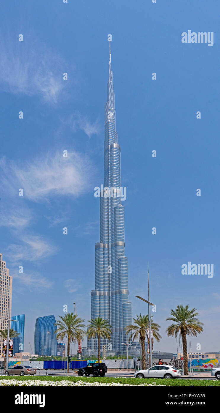 Burj Khalifa: height and general information about the project 63