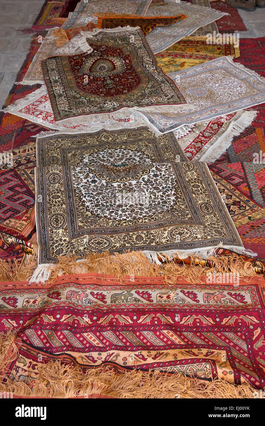 Asia Uzbekistan Central Silk Road Inside Carpet Wall Hanging Souvenir Tradition Traditional Craft Ar