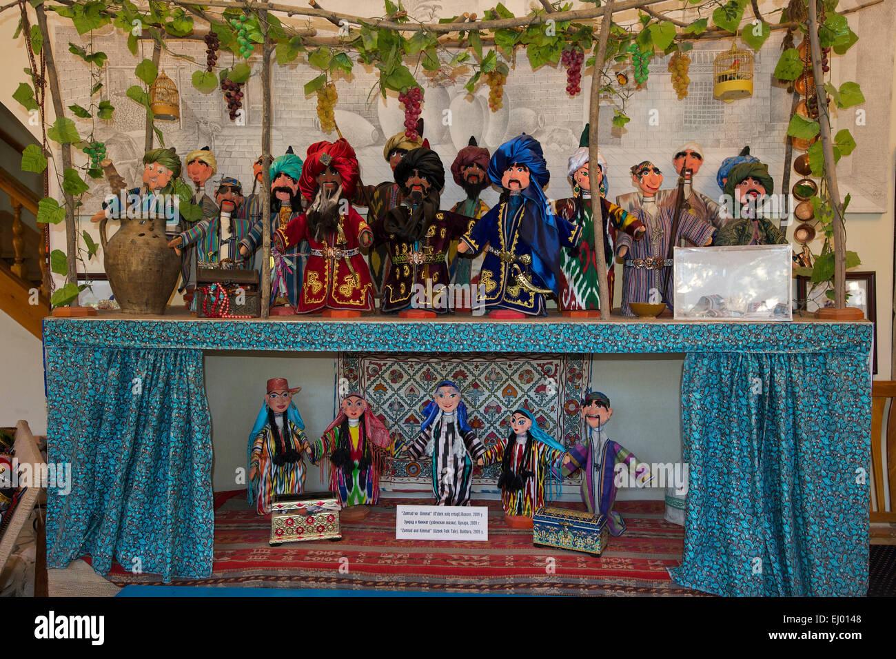 Asia Uzbekistan Central Silk Road Inside Tradition Traditional Puppet Doll Toys Souvenir Buxoro Bukhara Nobody