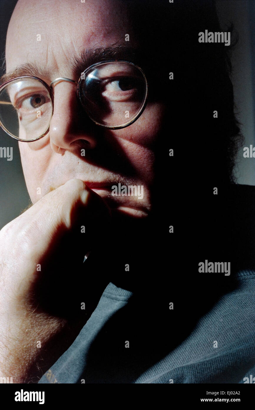 David Edgar, playwright - Stock Image