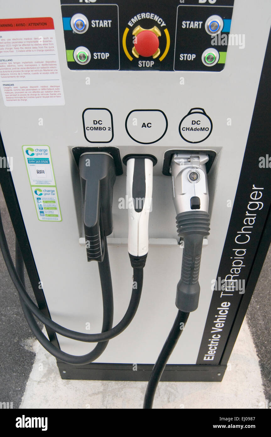 Electric Car Cars Recharging Point Charging Charge Plug