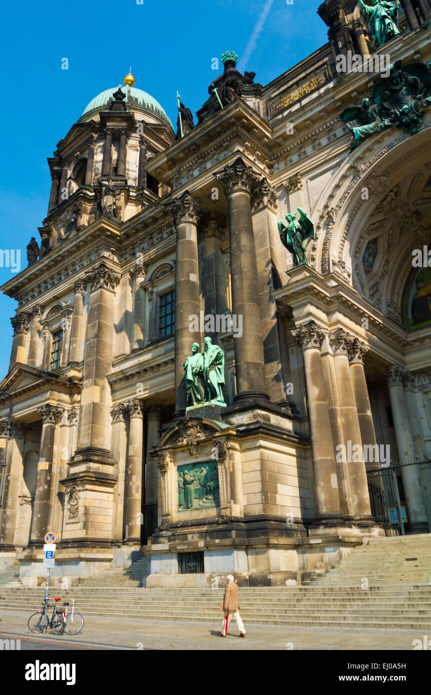 Berliner Dom, Berlin Cathedral, Museumsinsel, the museum island, Mitte district, central Berlin, Germany - Stock Image