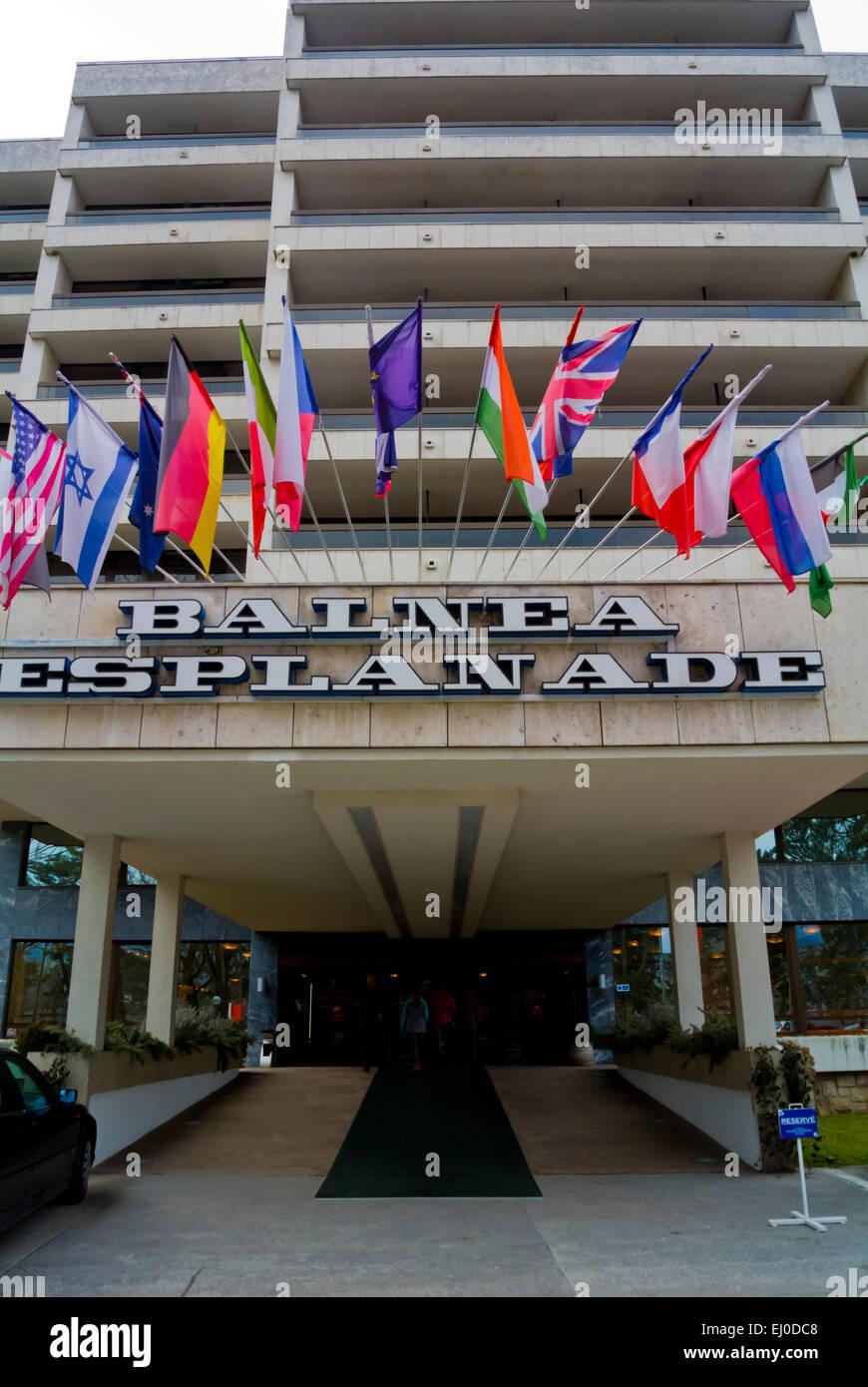 Balnea Esplanade spa hotel, Piestany, near Bratislava, Slovakia, Europe - Stock Image