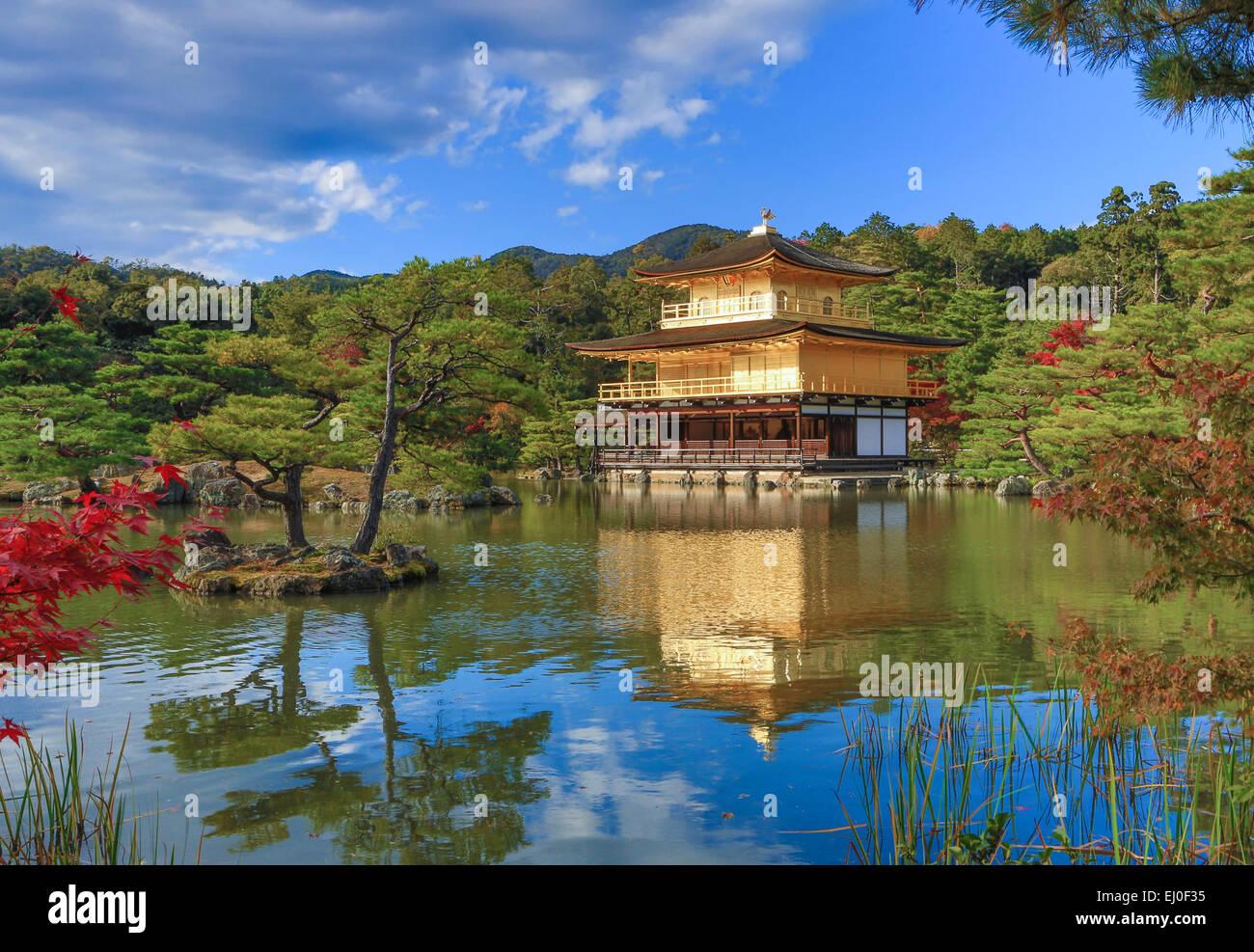 World Heritage Japan Asia Kansai Kinkaku Ji Kyoto Landscape