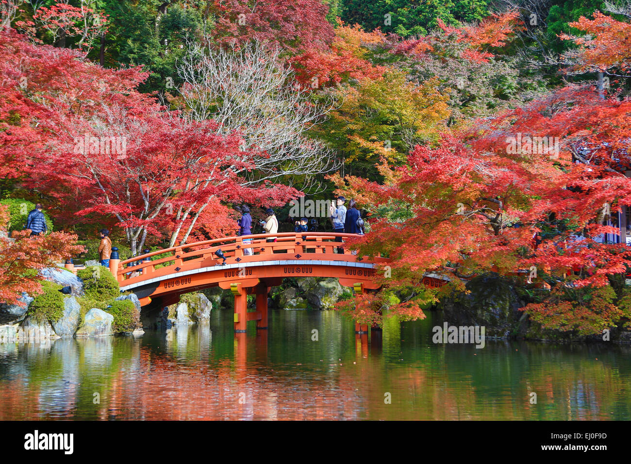 Giardini Zen Hd : Bridge daigo ji japan asia kansai kyoto japanese