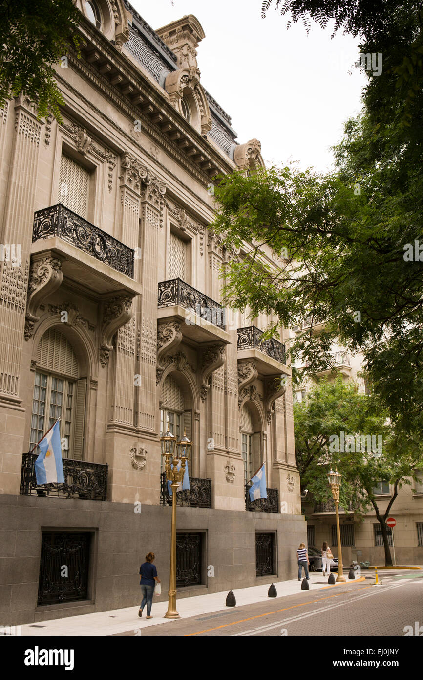 Argentina, Buenos Aires, Retiro, Palacio San Martin, Ministry of Foreign Affairs and religion building - Stock Image