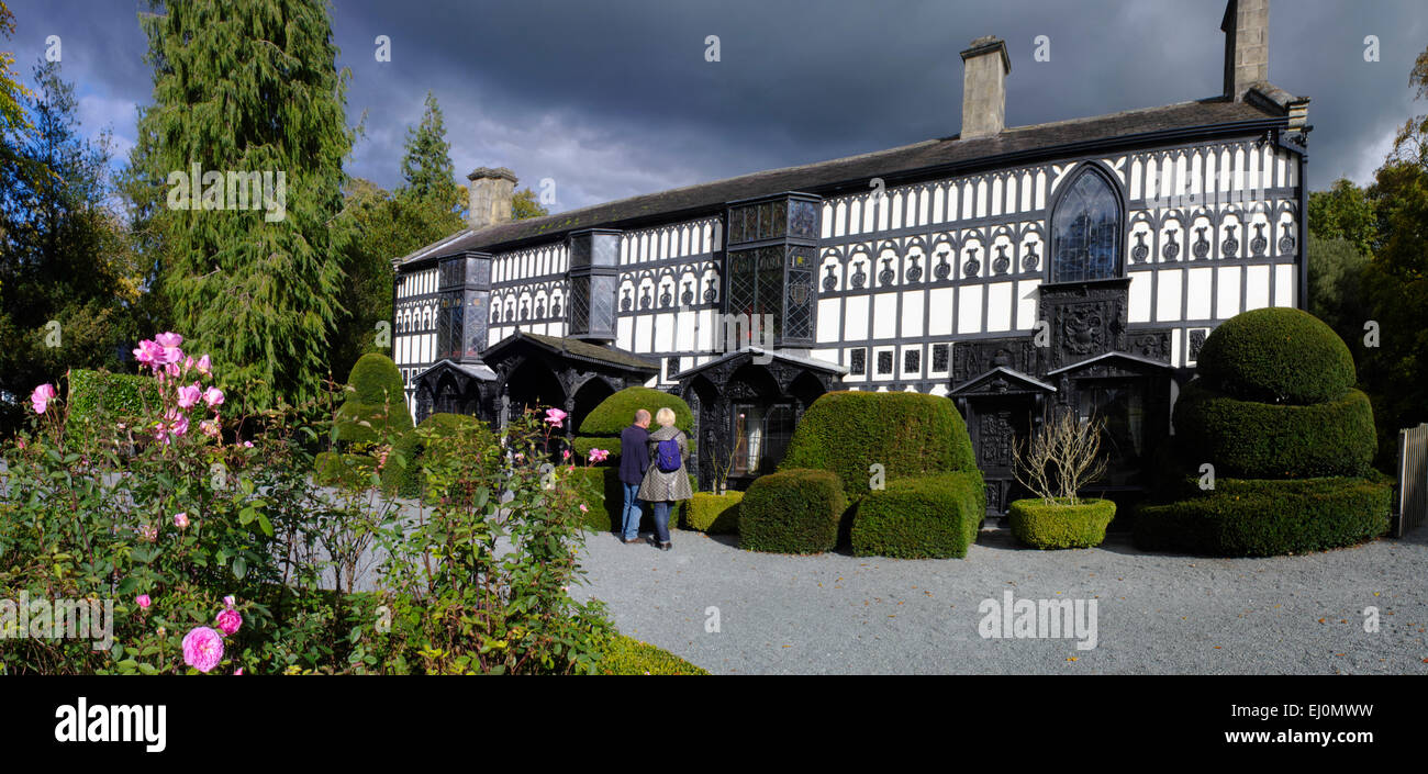 Plas Newedd, Llangollen Stock Photo