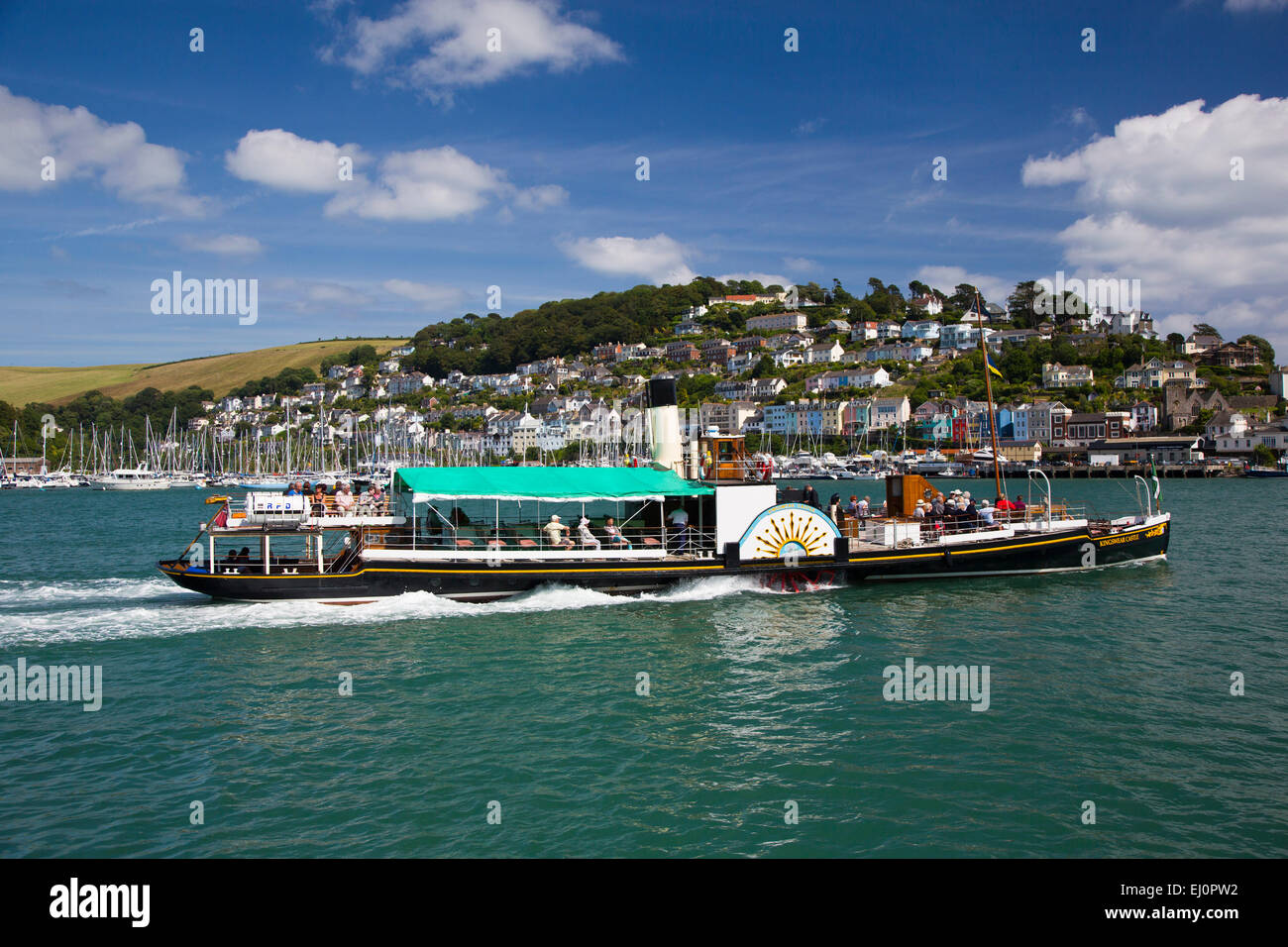 Kingswear, Dartmouth, South Hams, Devon, South-West England, Britain, UK, Europe, British, English, south coast, - Stock Image