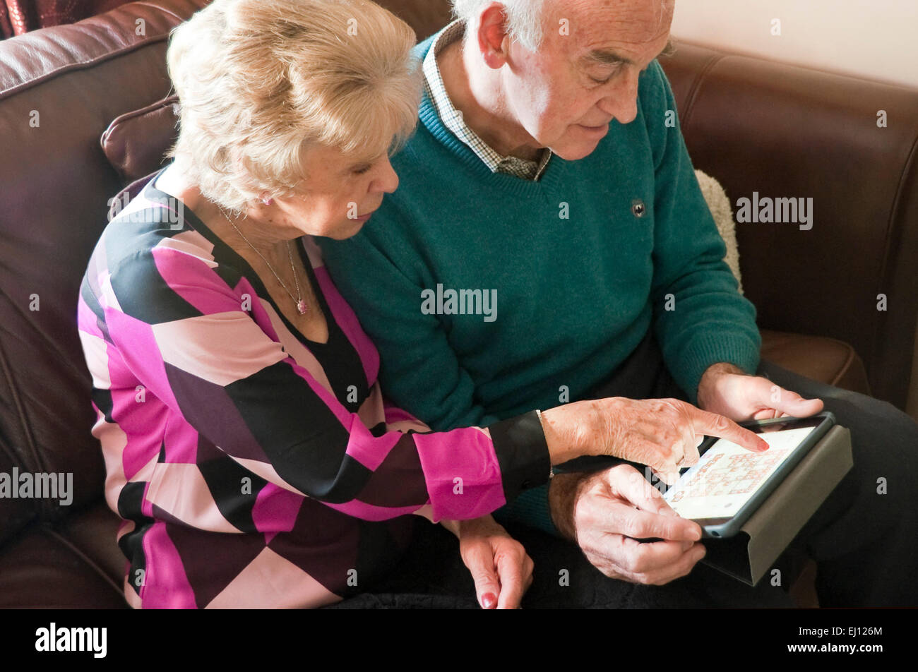 Retired Couple Home Dog Stock Photos Amp Retired Couple Home