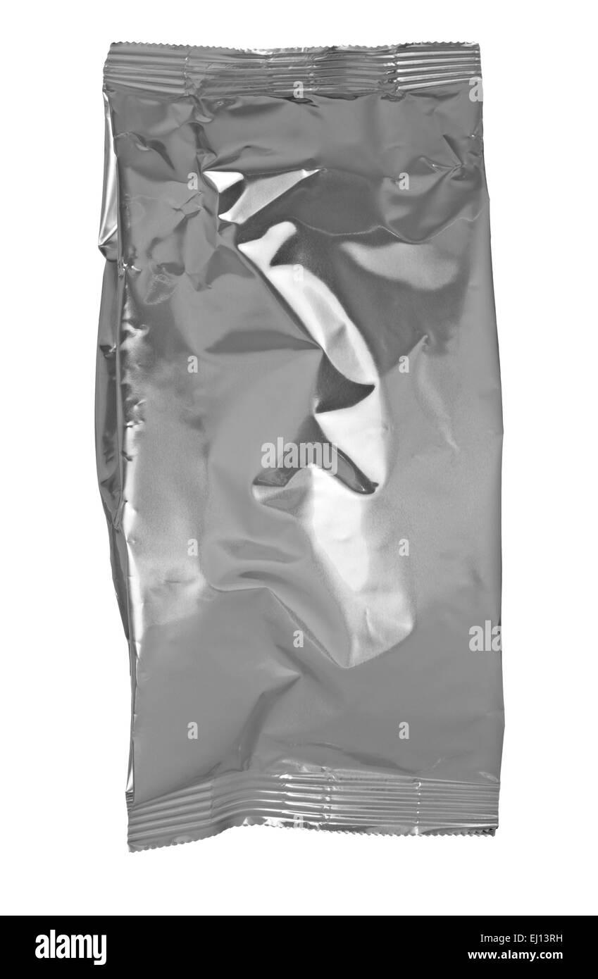aluminum pack - Stock Image