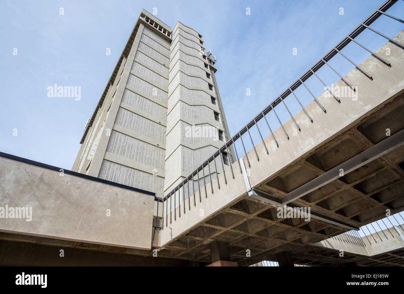 Social & Behavioral Sciences Building at the University of Utah in Salt Lake City - Stock Image
